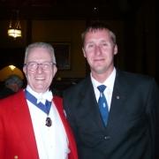 Andy Bignold (M.C.) & Frans Leijtens C 949