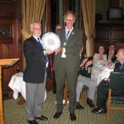 Piet Jansens C389 & President Carl Lawton C 750